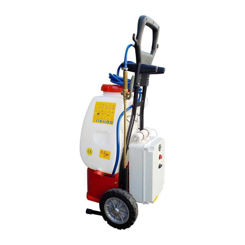 Irroratore - sanificatore carrellato con impianto produzione Biozono