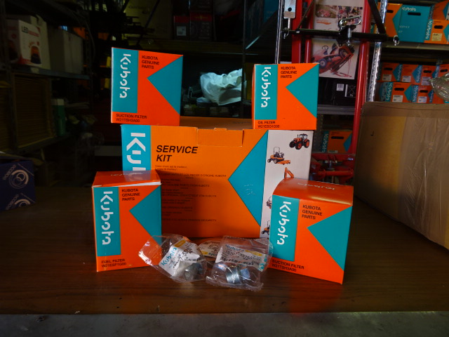 Kit filtri Kubota M6040 / M7040 Frutteto