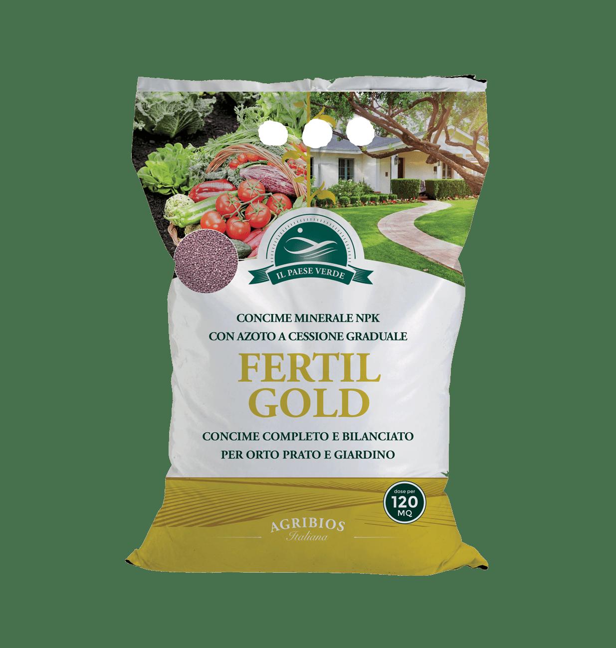 Fertilgold - concime granulare 4kg