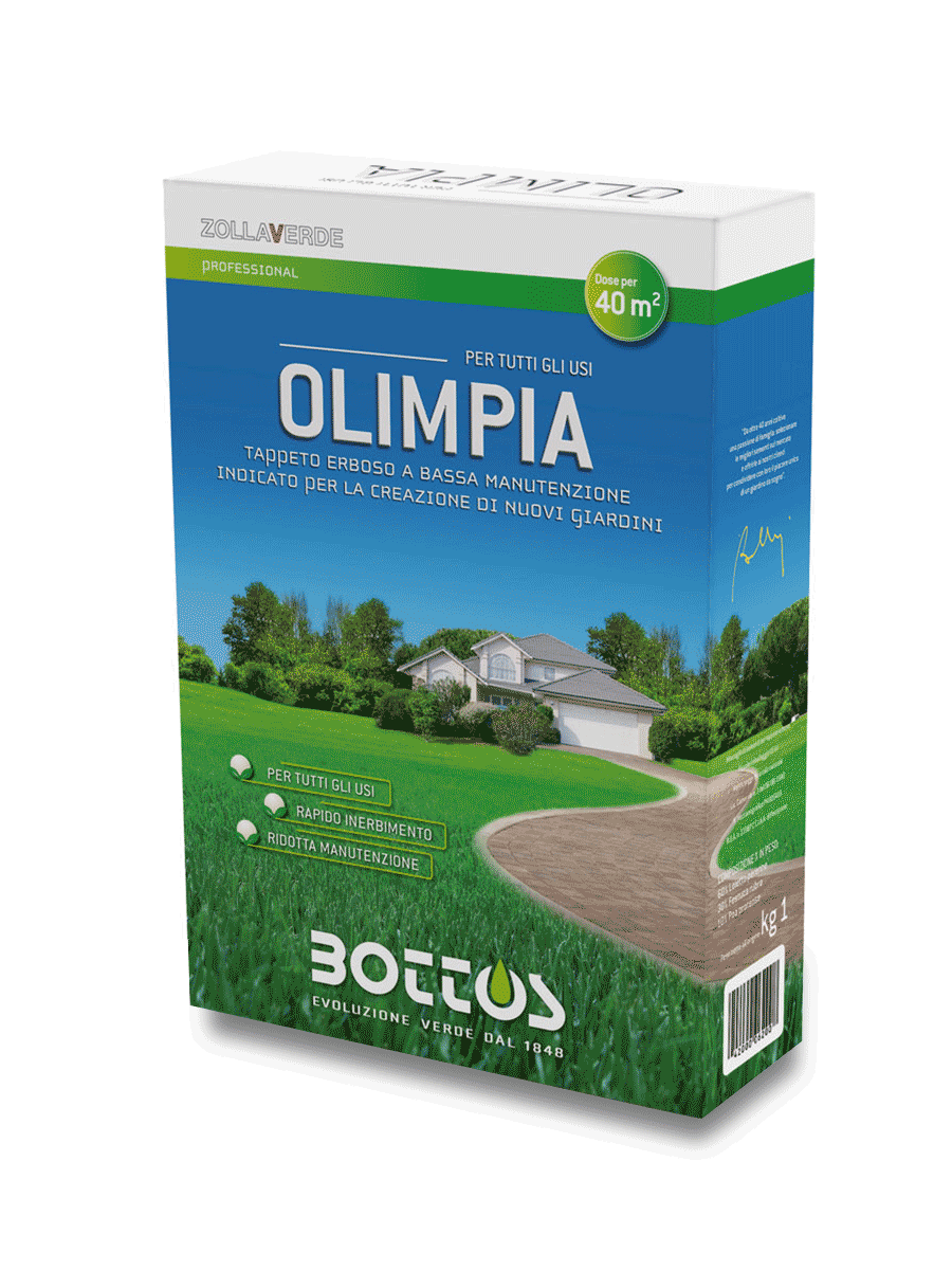 Olimpia - Sementi per prato confezione 1Kg